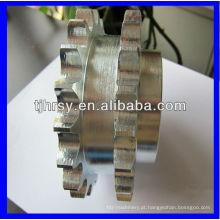 Roda de corrente de roda dentada duplex galvanizada