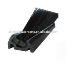 BS-2 cepillo falda con pedestal de plástico para escaleras mecánicas y moverse a pie repuestos de escaleras mecánicas
