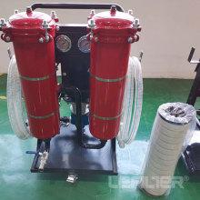 Aluguel de carrinho de filtro de óleo hidráulico para filtração de óleo industrial LYC-50B
