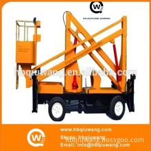 Man-drive Hydraulic Stationary Boom Lift