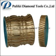 Roue de meulage de pierre de profil de frittage Roue de meulage de diamant de segment fritté
