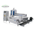woodworking machinery 4 axis cnc router for wood chair legs