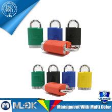 MOK lock W202 / 202L master lock manilha de aço endurecido rolamento rotativo com trava