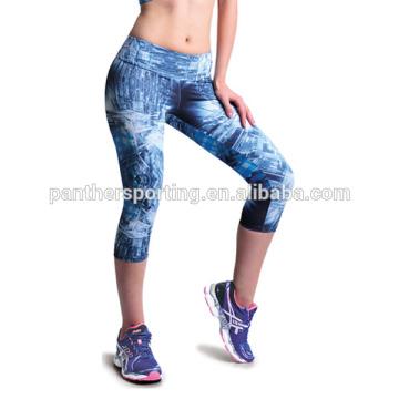 Großhandelsfrauen-Kleidungs-Mode Dri passen kundenspezifische Yogahosen