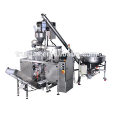 standup pouch packaging machine with valve applicator
