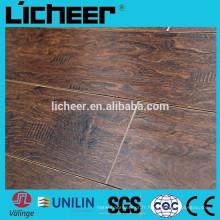 Fabricants de planchers stratifiés en parquet en bois imité par la Chine / sol stratifié facile