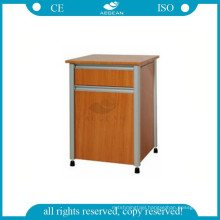 AG-BC017 medical furniture bedside wooden hospital storage cabinet