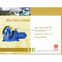 Máquina de tração engrenado superior da classe profissional ac2 vvvf