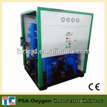 Planta de producción de oxígeno con secador de aire