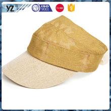 Main product OEM design visor cap wholesale