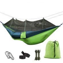 Facile à assembler hamacs d'arbres de parachute pour le camping