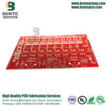 Top for PCB Circuit Board Prototype Red ink PCB Prototype export to South Korea Exporter