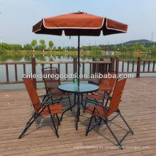 2014 muebles de metal barato al aire libre de China