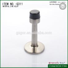 Cabeza de goma aleación de zinc vena parada / tapón de la puerta