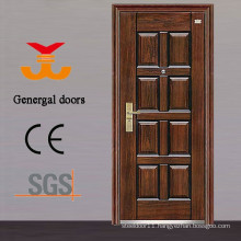 ISO9001 50mm 70mm steel security doors