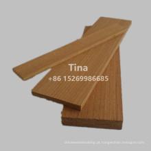 Margem de madeira teca de engenharia chinesa