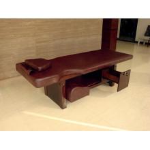 Pequeña cama de pie de madera con cajones Hotel Furniture