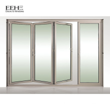 Portes françaises patio en aluminium blanc