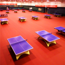 Plancher de PVC de tennis de table