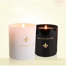 Nuevo diseño y vela multicolor de cera de soja perfumada