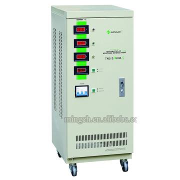 Personalizado Tns-Z-9k Tres fases de la serie Voltaje de CA totalmente automático Regualtor / Estabilizador
