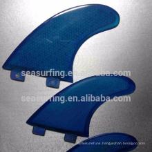 2018 new style honeycomb fiberglass surfboard fin/surf fins
