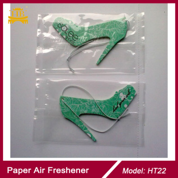 High Heel Rose Scent Promotion Gift Paper Air Fresheners
