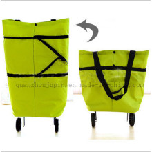 OEM Logo Fashion Travel Shopping Bag With Wheels for Promotion