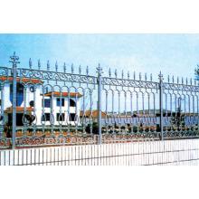Clôture en fonte / clôture ornementale ornementale décorative en fonte