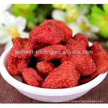 Fresas secas frescas a granel