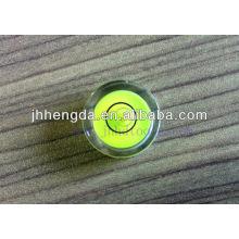 Круглый уровень жидкости, диаметр 15 мм, высота 8 мм