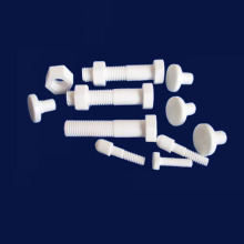Alumina Ceramic Heat Shock Resistance Ceramic Bolts Nuts