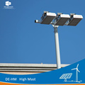 Zinc steel solar street light pole units