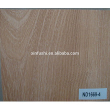 18mm Natural red oak veneer faced Particle board