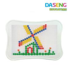 Игра Креативные грибы ногтей головоломки игра для детей детский сад образовательный пазл