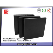 Black Phenolic Paper Sheet with Factory Price