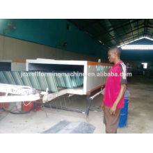 Ligne de production de tuiles de toit en métal revêtu de pierre de couleur
