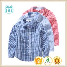 Gros bébé garçons T-shirt coton à manches longues enfants Blouse Plaid Cardigan pour enfants confortable chemise à carreaux pour bébé garçon