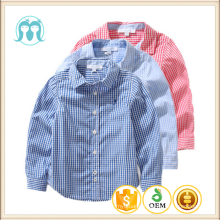 Wholesale Baby Boys T-shirt Cotton Long Sleeve Children Blouse Plaid Cardigan For Kids comfortable plaid shirt for baby boy