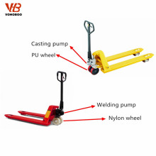 hand pallet truck 5ton with welding hydraulic pump