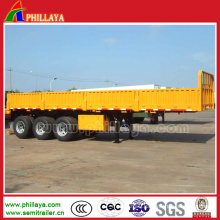 Three Axles Side Wall Detachable Semi Trailer