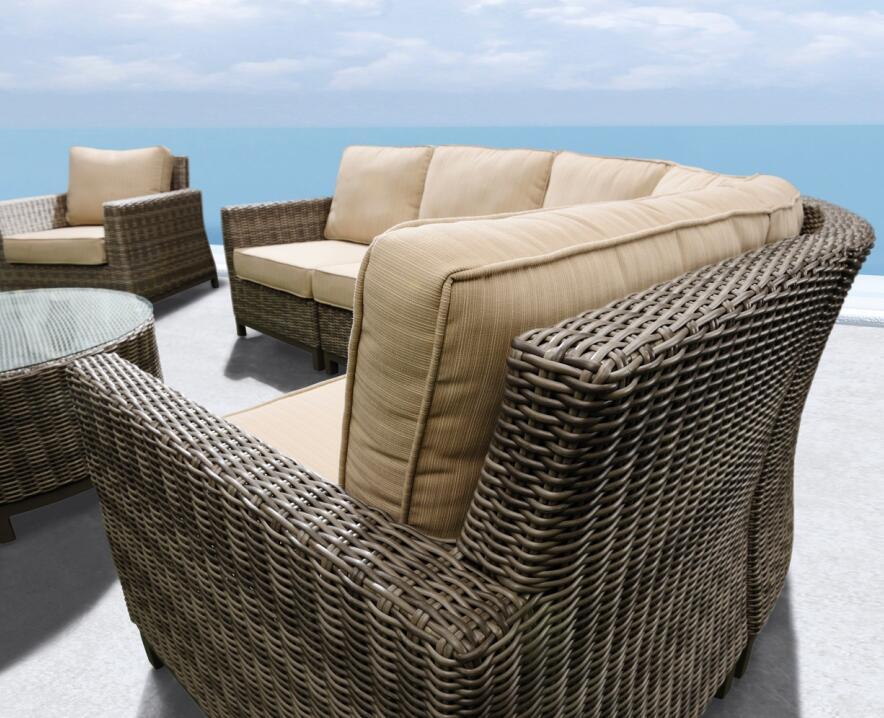 china patio deep seating outdoor sofa manufacturers