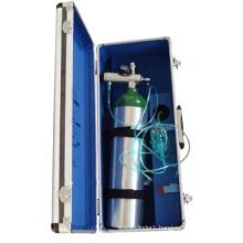 Aluminum Oxygen Cylinder Oxygen Tank, Medical Gas Supplying System Bottle