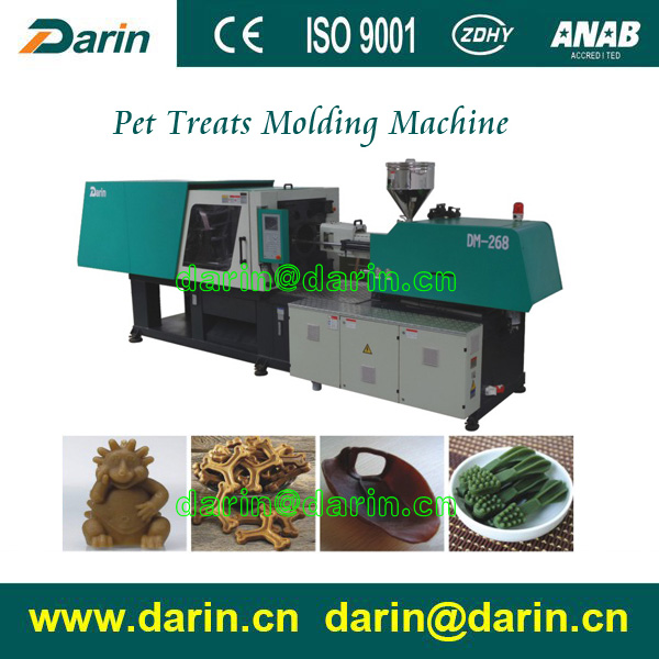 Injeksi Dibentuk Pet Chewing Snack Making Machine