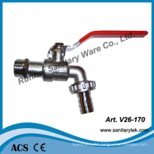 Zinc Alloy Bibcock with Hose Union (V26-170)