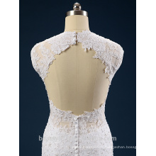 Nouveau style élégant A-ligne sweatheart décolleté et robe de mariée sans manches en dentelle AS41401