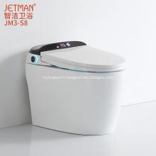 Toilette intelligente à chasse d'eau automatique
