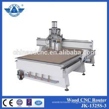 Hot sale Three process machine, wood cutting machine/engraving machine/perforating machine
