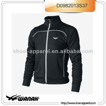 Latest dri-fit waffle knit running jacket men sample available