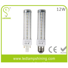warm white 12w g24 led plug light